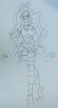 Day 5: Monster Form by jacksepticeye89143