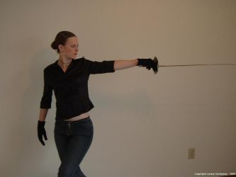 Sword Pose 9 by lesleyhat
