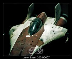 Star Wars Exhibit A-Wing Ship by Shadrak