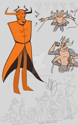 Fusion: Lanky Scarecrow by TiGGs96