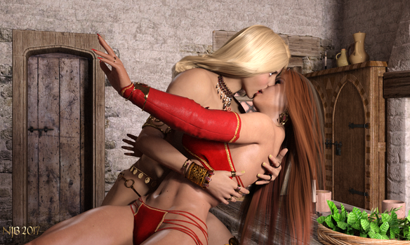 The Enchantress and the Warrior 213 by Nathanomir