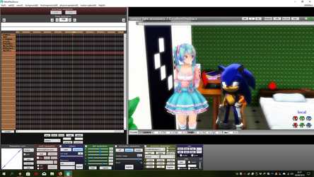 New Sonic and Miku video in Progress by Kyo-Saeba