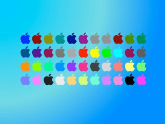 Colorful Apple by iVille