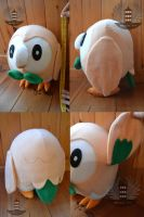 Life size Pokemon ROWLET plush