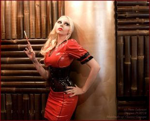 . femme fatale  . by Countess-Grotesque