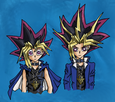 YuGiOh Concours Halloween by Hatsumei-Akari