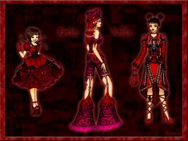 Gothic Lolita Collection by Diablotiny