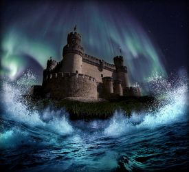 Castle Over Troubled Waters by KirstenStar