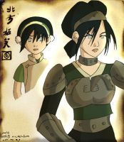 Shifting Earth - Toph by Isaia