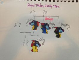 Royal Tiedan family tree by FlamingGatorGirl