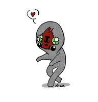 SCP-173 Chibi by Imaginary-Alchemist