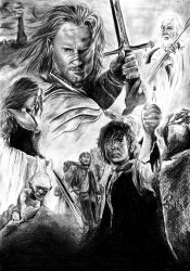 The Lord of the Rings by moepi92