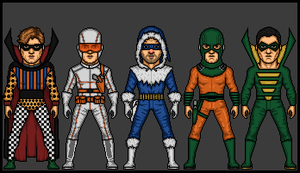 DC Comics - The Rogues by theherocreator