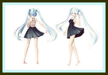 [MMD] Request Contest Dress DOWNLOAD! (Updated) by AyaneFoxey