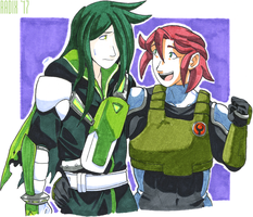 June and Durandal by General-RADIX