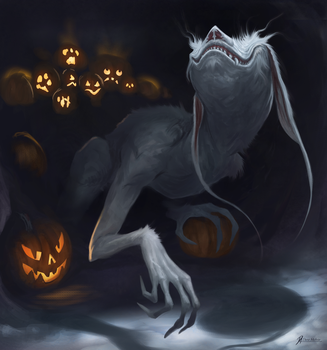 Pale-Pumpkin-Thief by Davesrightmind