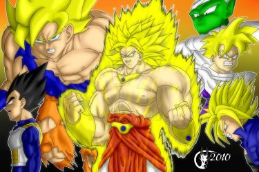 DBZ - Movie 8 - Broly by Jinjuuryuu