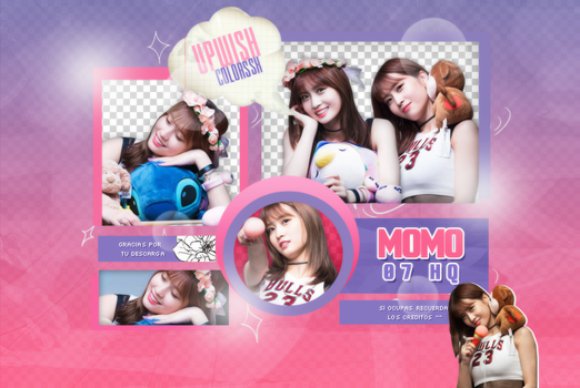 MOMO PACK PNG #1|TWICE by UpWishColorssx