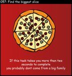 Find the biggest slice by FW-Tabb