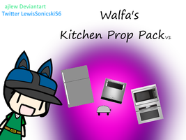 Walfas - Kitchen Props V1 (Prop Package) by ajlew