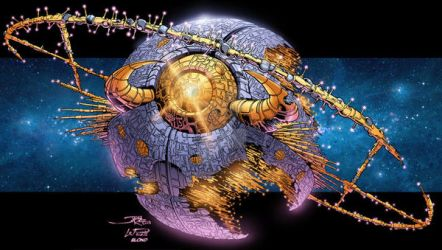 Unicron by BlondTheColorist