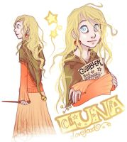 Luna Lovegood by leelakin