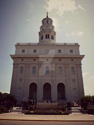 Nauvoo LDS Temple by Zach-Bowie