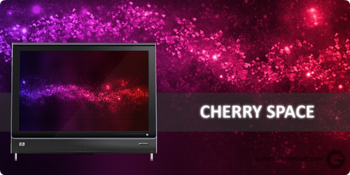 Cherry Space by Gurato