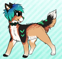 [CLOSED] OTA Canine adoptable by kat-adopts