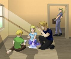 FMA: in father's footsteps? by Sofie3387
