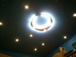 Moon and Stars LED light by grundyonline