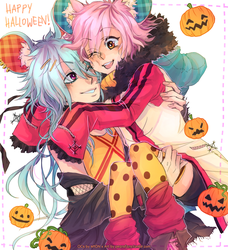Happy Halloween! Trade for M10N by pearsfears