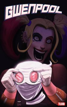 what if... gwenpool was really harley quinn by m7781