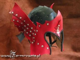 Dragon Armor Helmet ready by farmerownia