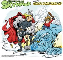 the Mighty Thor Skyward Style final by CharlesEttinger