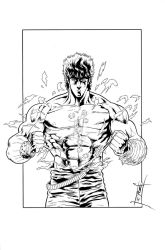 Kenshiro 1 - Inks by The-Real-NComics