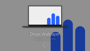 Drops Wallpaper by TheButterCat