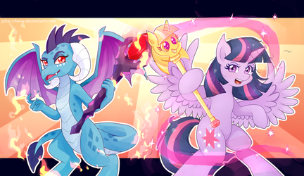 Powerful Allies by Pika-chanY