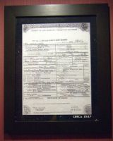 Bugsy Siegel's Death Certificate by Don-O