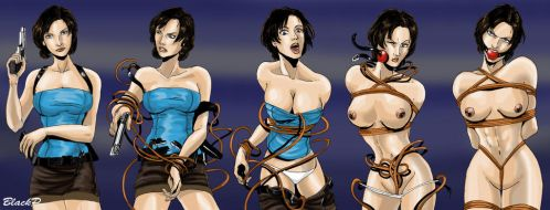 The evolution of Jill Valentine by BlackProf