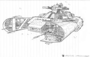 Anvil Dreadnought by DissidentZombie
