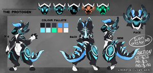 Protogen design #17 auction -CLOSED by NazaKiru