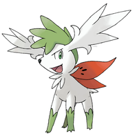Shaymin Sky Forme by Xous54