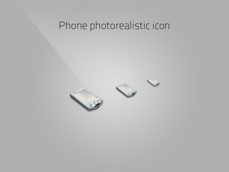 Phone photorealistic icon by nieswiety1337