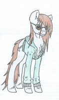 Me as a pony by FullmoonDagger