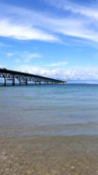 Mackinaw Bridge Tall by euphoricallydead
