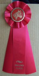 Stock x Horse Show Ribbon 2nd. by Lovely-DreamCatcher