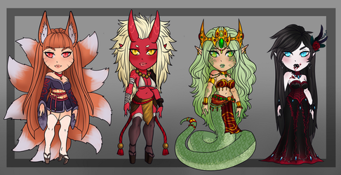 Monster Girl Adopts- CLOSED by Akira-Raikou