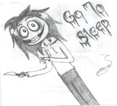 My FIRST Jeff The Killer EVER by SavannaEGoth