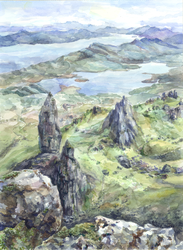 -The Old Man of Storr- by RiEile